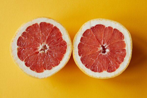 Breakfast – Warm Honey Grapefruit