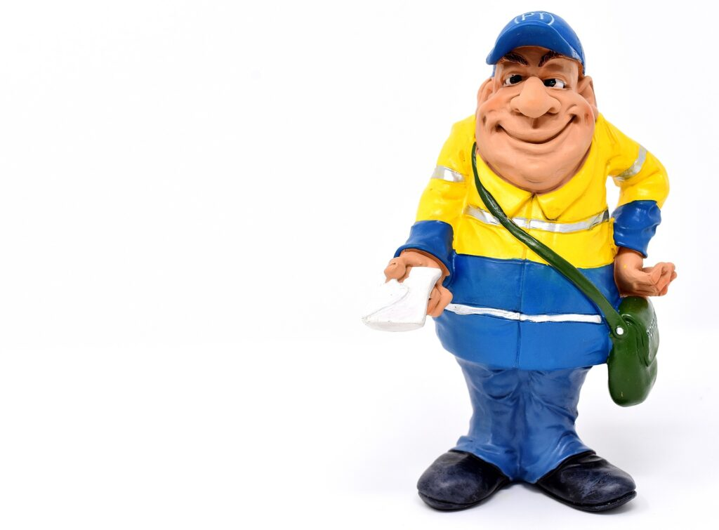 Have You Ever Seen A Fat Postman?